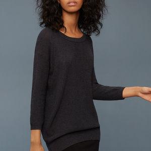 Aritzia Wilfred Silk Cashmere Balzac Sweater